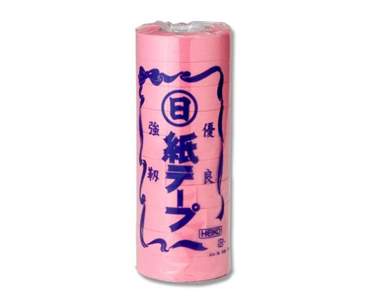 HEIKO 紐 紙テープ 桃 10巻 001530110