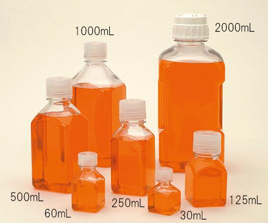 角型透明ボトル PC 30mL