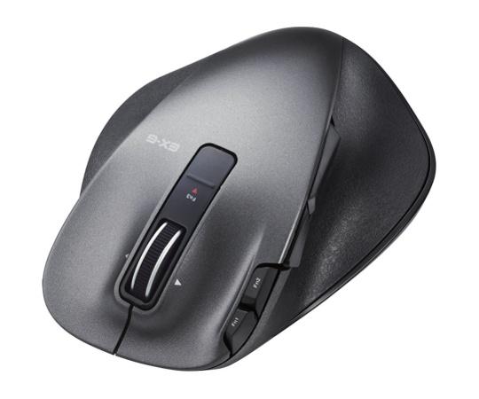 ULTIMATE LASERマウス/握りの極み/Lサイズ/無線/2.4GHz/8ボタン+チルト/ブラック