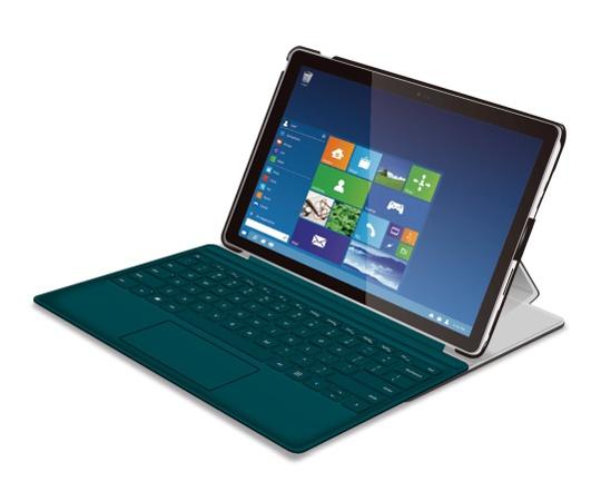 [取扱停止]Surface Pro 4用ソフトレザーカバー4アングル TB-MSP4WPLF2BK