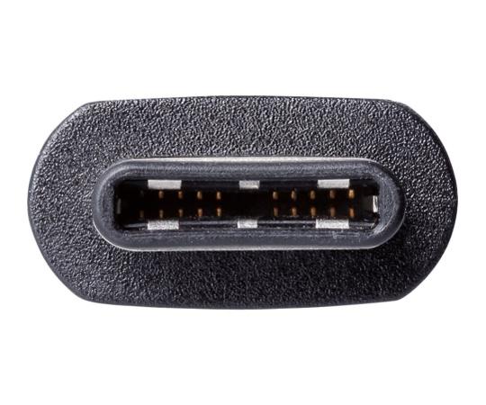 USB2.0ケーブル 1.5m 4.2mm ブラック USB Type-C端子搭載用 U2C-CC5P15NBK