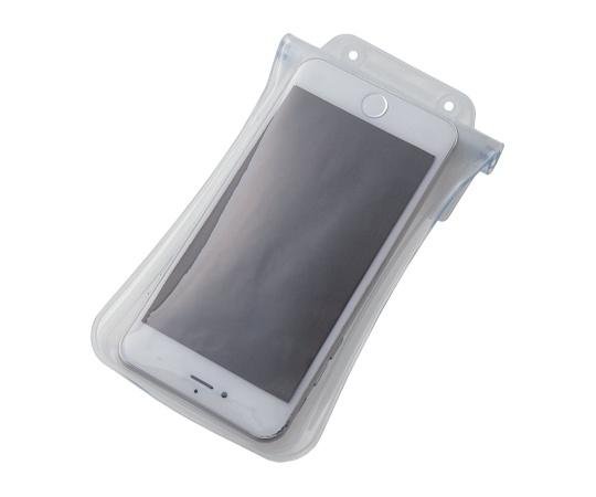 [取扱停止]スマートフォン用防水・防塵ケース(水没防止タイプ) 5.5インチ以下 ホワイト P-02WPS2WH