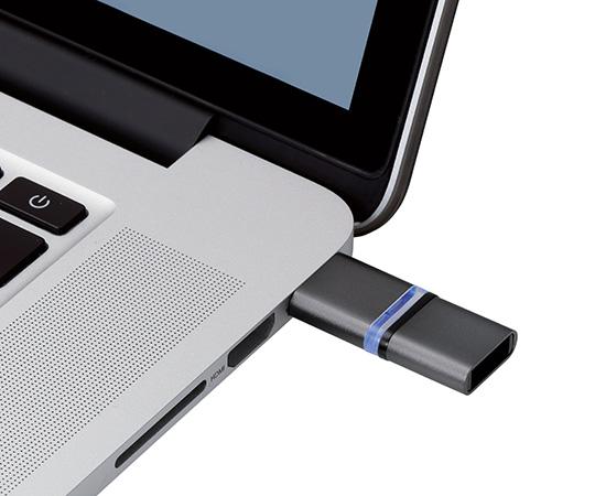 [取扱停止]マグネット付きUSBメモリ(ブラック)32GB MF-MGU232GBK