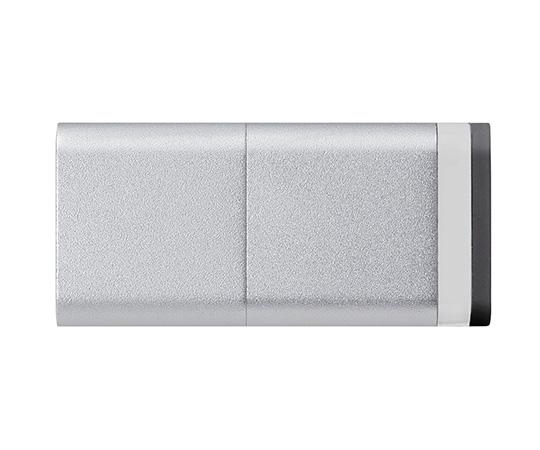 [取扱停止]マグネット付きUSBメモリ(シルバー)32GB MF-MGU232GSV