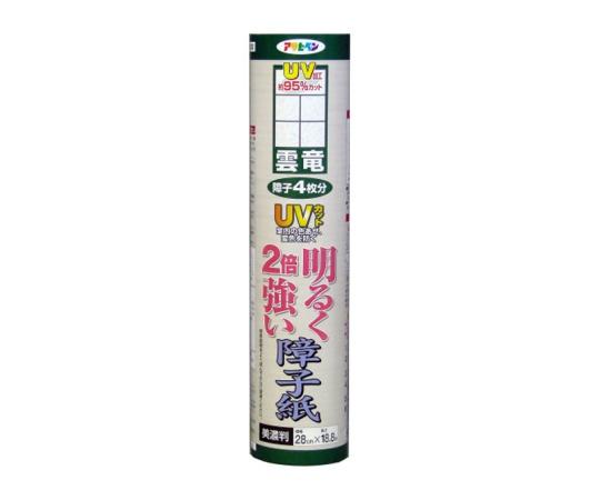 [取扱停止]UVカット 明るく2倍強い障子紙 28cm×188cm(雲竜) SU-202