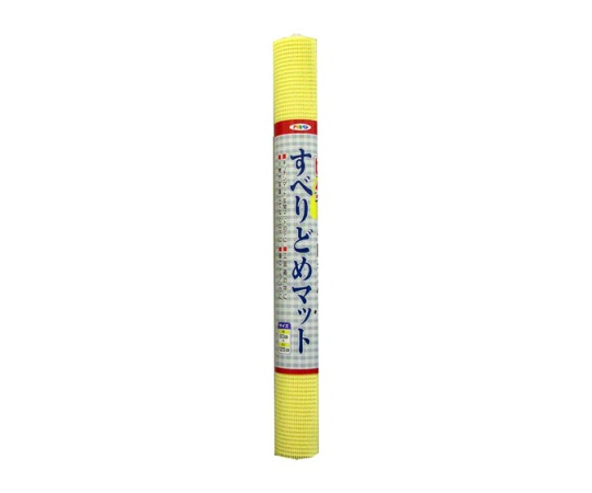 すべりどめマット 60cm×125cm(パステルイエロー) LF9-60