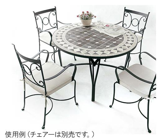 アリエモザイクダイニングテーブル48AXDT-0210