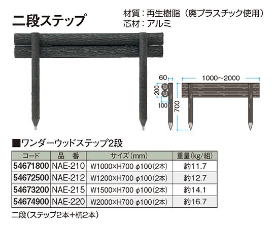 ワンダーウッドステップ2段NAE-210 54671800