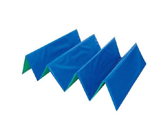 折り畳み式養生材 忍者N 5mm厚 700×1850 ブルー/グリーン