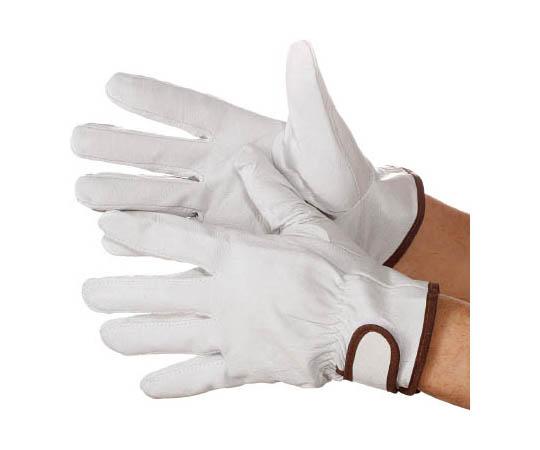 [取扱停止]豚本革手袋マジック式717豚白M