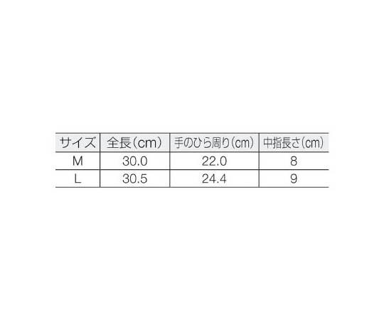 耐溶剤作業用手袋 アルファテック M 585308