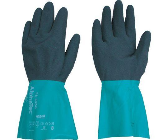 耐薬品手袋 アルファテック 58-530 Lサイズ 58-530-9