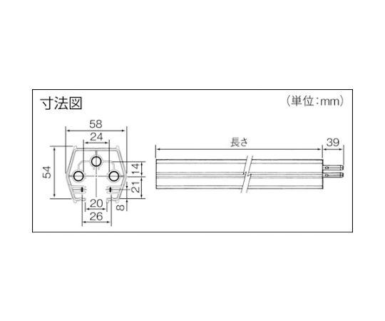 ファクトライン60 本体 L=2m DH2312