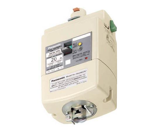 漏電ブレーカ付プラグ 3P30A15mA DH24831K1