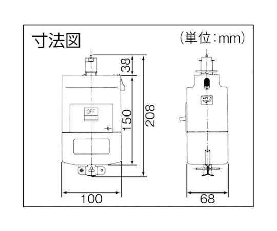 モータブレーカ付プラグ 0.75kW用 DH24873K1