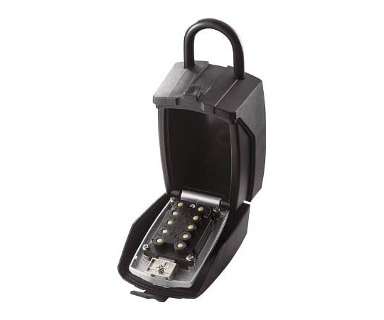 ボックス付南京錠 キー保管ボックス DK-N500