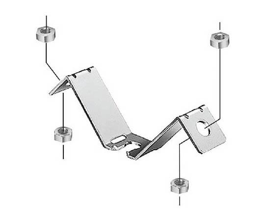 吊りボルト振れ止め金具 両側用 DLEF3W