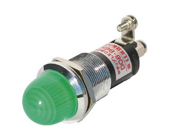 ランプ交換型LED表示灯(AC/DC24V接続) 緑 Φ16 DO8B6MACDC24VGG