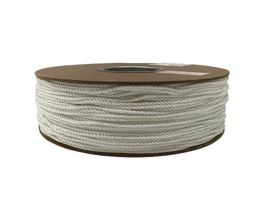 ナイロン3打ロープドラム巻 3mm×300m