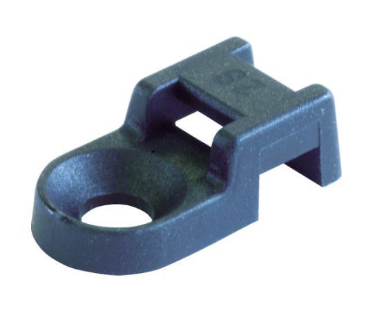ケーブルタイ固定具 ネジ込型 5mm 黒 (100個入) SUP.3.405