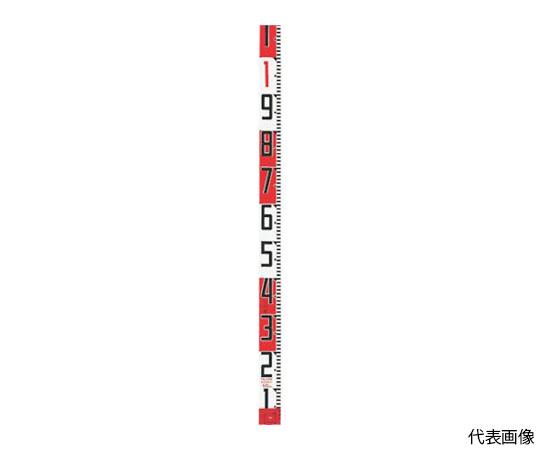 シムロンロッド長さ 2m/裏面仕様 20cmアカシロ/紙函 SYR-02P