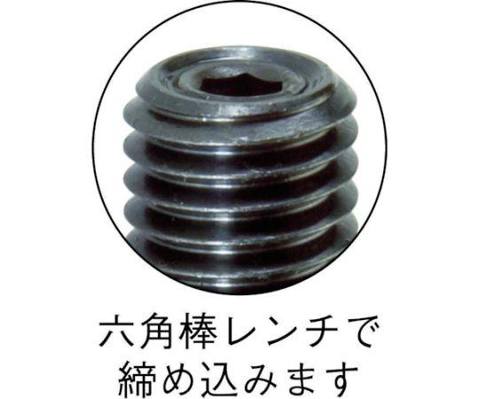 スプリングプランジャー M12 樹脂ピン T12PN-R