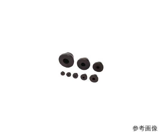 [取扱停止]グロメット 耐候M16 黒210-032493 T1458254