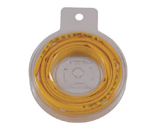熱収縮チューブ 収縮率2:1 黄