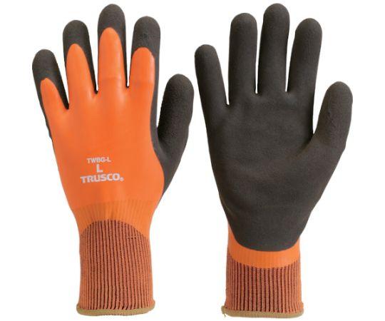 防寒天然ゴム手袋 Lサイズ TWBG-L