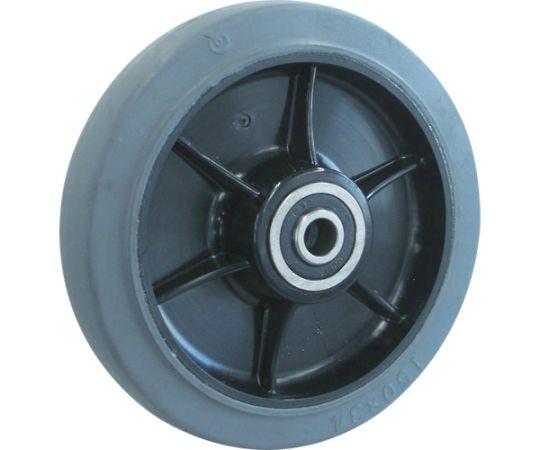 TYSシリーズ 車輪のみ グレーゴム 150Φ TYSW-150G