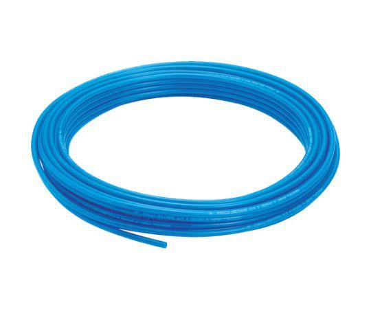 ポリウレタンチューブ ブルー 6×4 100M UB0640-100-BU