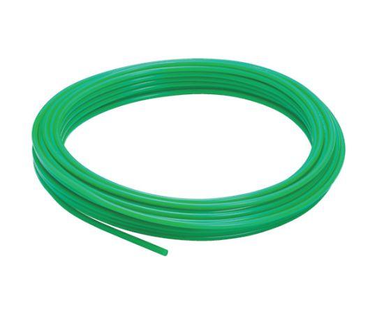 ポリウレタンチューブ グリーン 12×8 100M UB1280-100-G