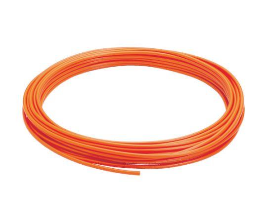 ポリウレタンチューブ オレンジ 12×8 100M UB1280-100-O