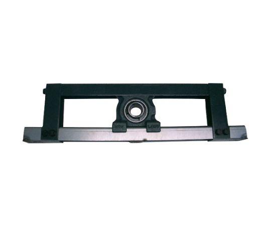 軸受ユニット溝形鋼製フレーム(円筒穴形止めねじ式)軸径40mm全長870mm全高190mm UCM208-50D1