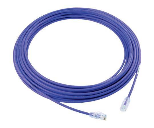 カテゴリ6A細径パッチコード 15m 紫 UTP28X15MVL