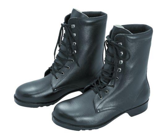 ゴム底安全靴 長編上 V213N 24.5CM V213N-24.5