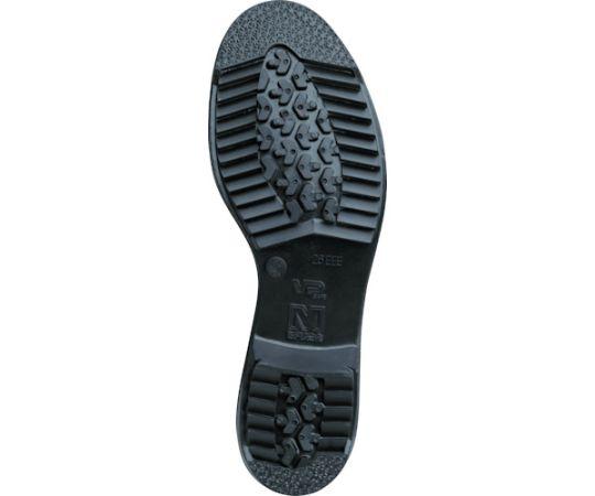 絶縁ゴム底 樹脂先芯入り作業靴 V251JN耐滑絶縁 24.0CM V251NJTZ-24.0