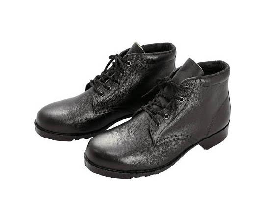 ゴム底安全靴 中編上 V262N 23.5CM