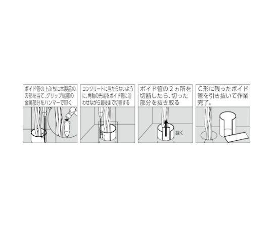 ボイド管カッター用替刃 VC-10K