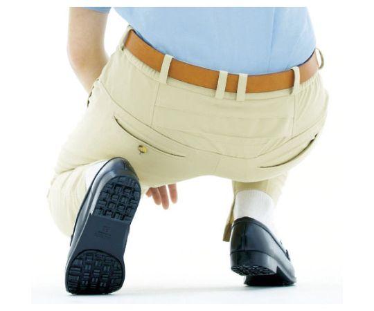 男女共用 裾上調整機能付イージーフレックスパンツ ネイビー LL VE387-SITA-LL