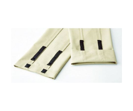 男女共用 裾上調整機能付イージーフレックスパンツ ネイビー SSS VE387-SITA-SSS