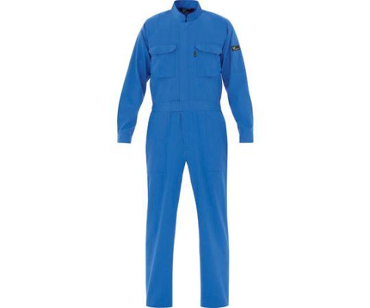 ベルデクセル T/C帯電防止ツナギ服 ブルー L VE 413-L