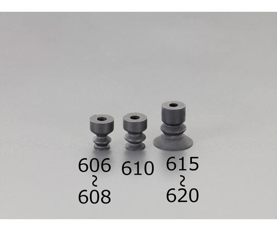 真空パッド(ニトリル製/ソフトベローズタイプ) φ8mm EA425PJ-608