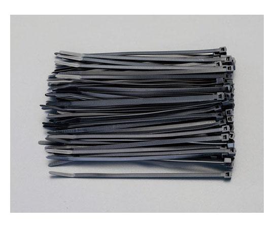 結束バンド(導電性) 151x3.5mm (100本) EA475AJ-415