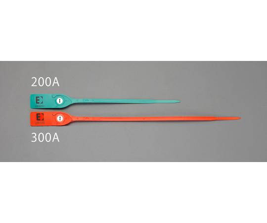 封印シールバンド(赤) 300mm (20本) EA475MA-300A