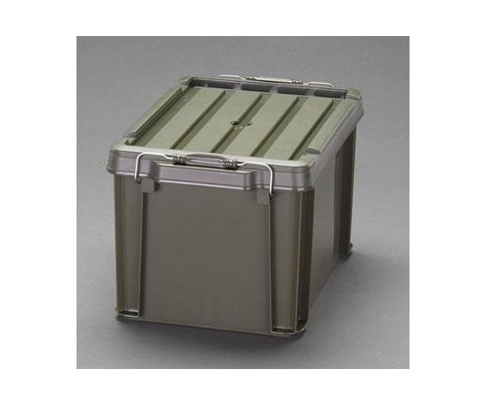 [取扱停止]収納ケース(バックル付/ODグリーン) 450x295x254mm (3個) EA506AB-139B