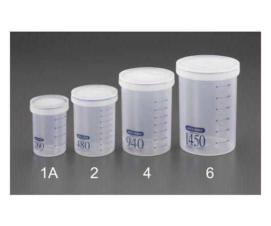 密閉容器(丸型/目盛付) φ124x171mm/1450mL EA508AN-6