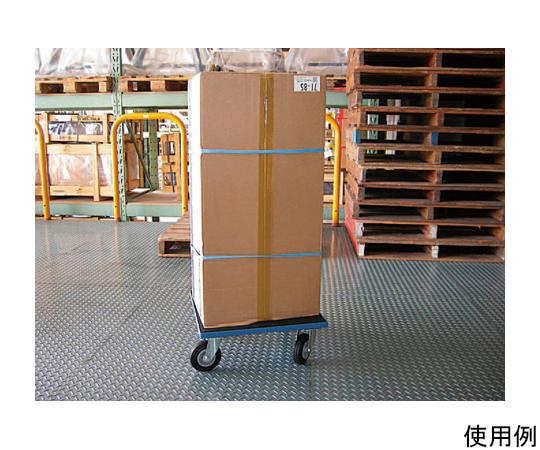 ドーリー(木製/ゴム張) 500x500mm/400Kg EA520AD-15