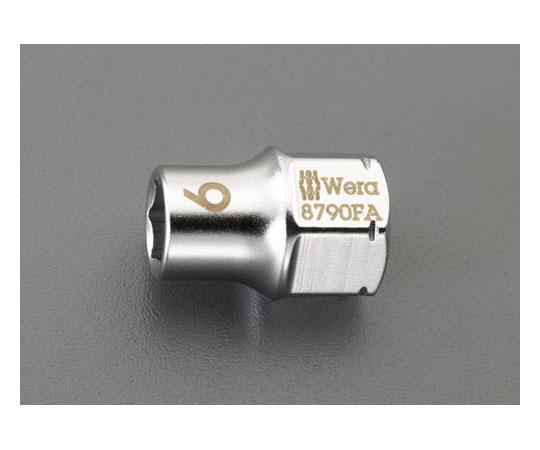 """[取扱停止]ソケット(ZYKLOP) [EA562WE-1用] 1/4""""sq x 6mm EA562WE-6"""