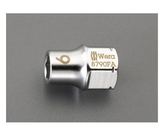 """[取扱停止]ソケット(ZYKLOP) [EA562WE-1用] 1/4""""sq x 10mm EA562WE-10"""